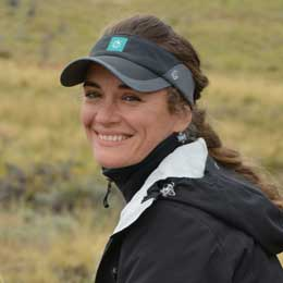 Wildlife tours slide of Apex Expeditions Tour Leader Giovanna Fasanelli