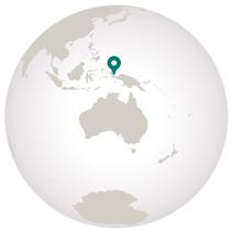 where is raja ampat on the globe