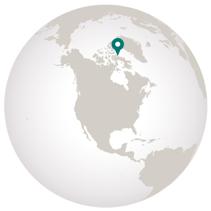 where is Baffin Island on the globe