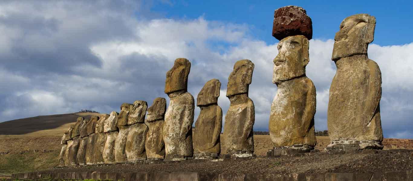 Cruise to Easter Island image of moai