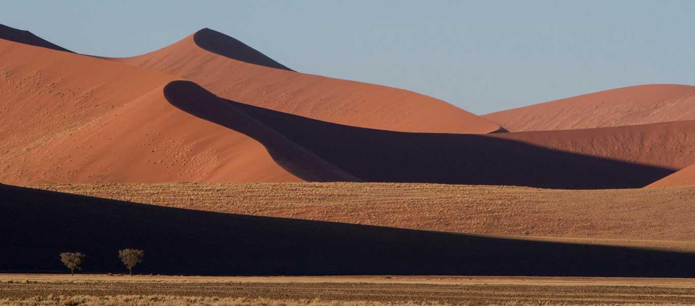 Namibia wildlife safari slide shows Namibia sand dunes
