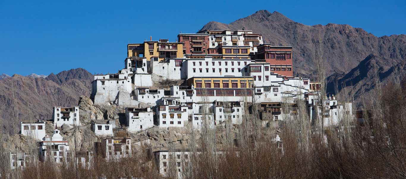 Snow Leopard tours image of Thikse Monastery in Leh, India