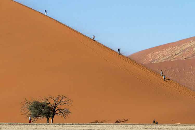 Namibia wildlife safaris slide shows Namibia's Sand Dunes