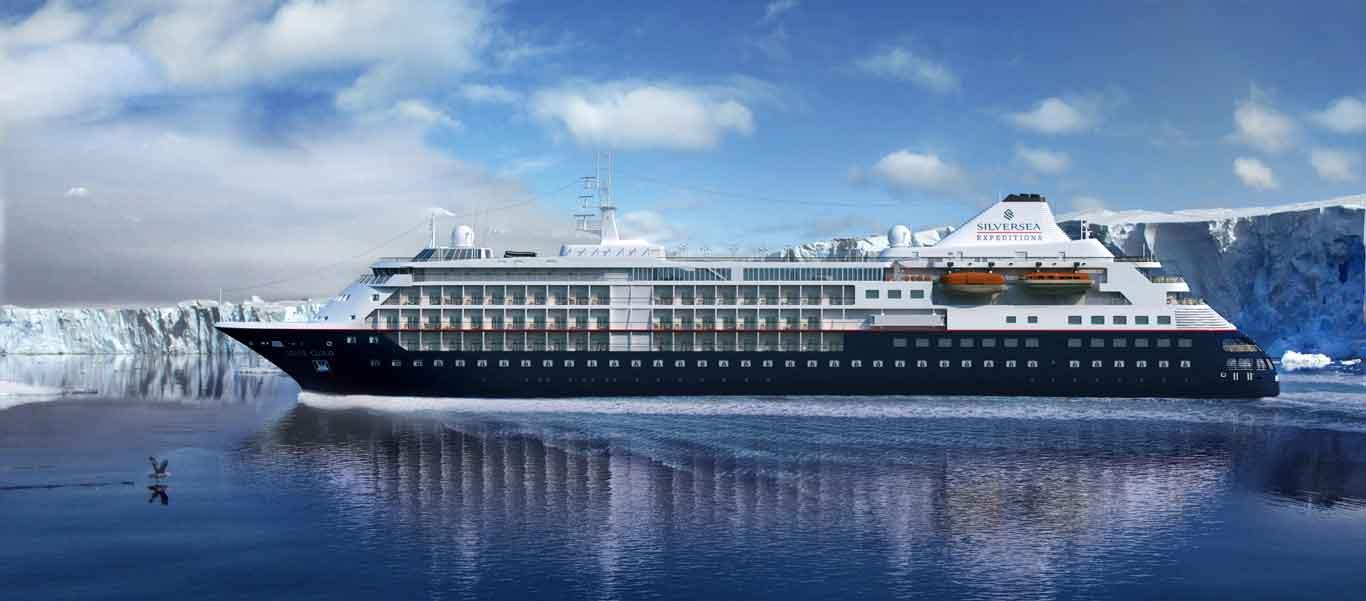 transatlantic crossing voyage image of vessel Silver Cloud