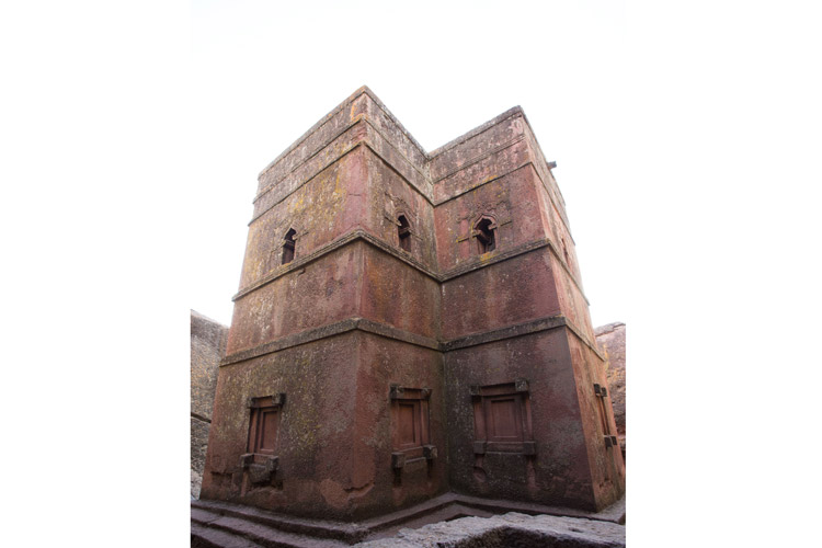 Ethiopia tours slide shows Lalibela St. George church