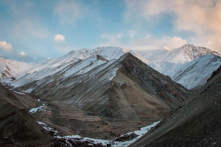 Snow Leopard Tour slide of Ladakh India landscape