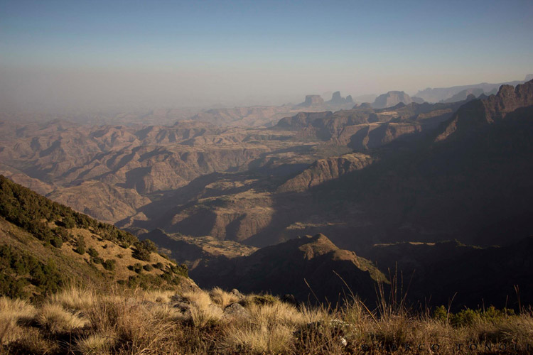 Ethiopia tour photo showing Simien Mountain National Park