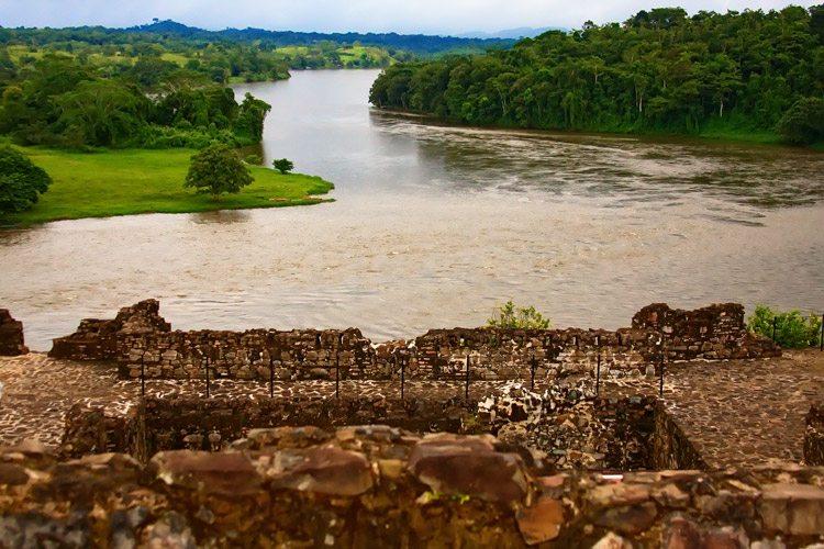 Nicaragua tours slide featuring San Juan River