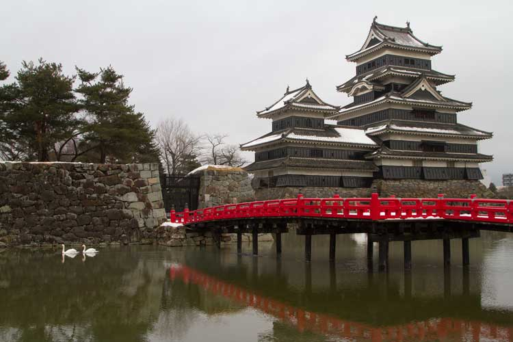 Japan travel image of Matsumoto Castle in Jigokudani