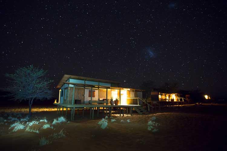 Namibia safari tour image of Wolwedans dark sky reserve