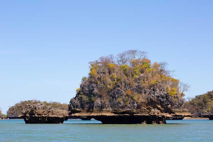 Travel to madagascar image of moramba bay limestone shore