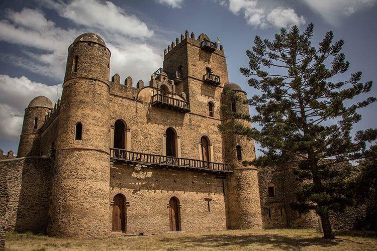 Ethiopian culture picture of gondar castle