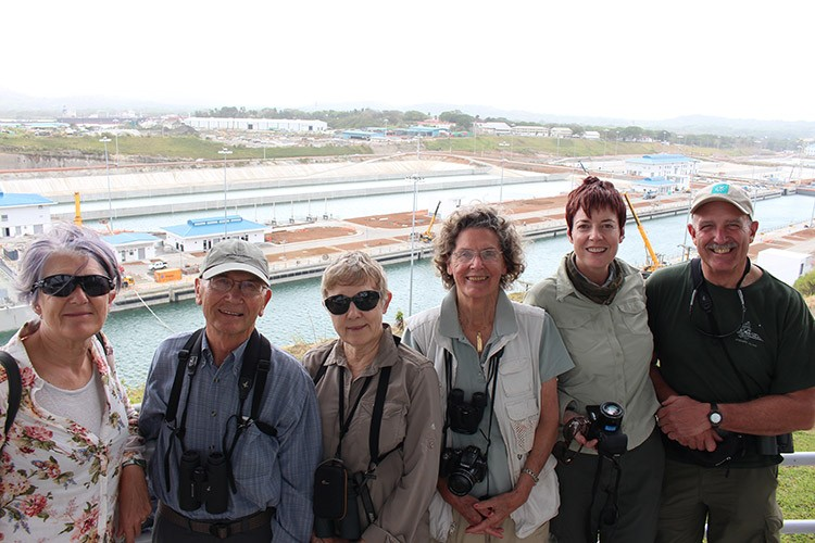 Panama expedition photo of Apex Travelers at Panama Canal expansion