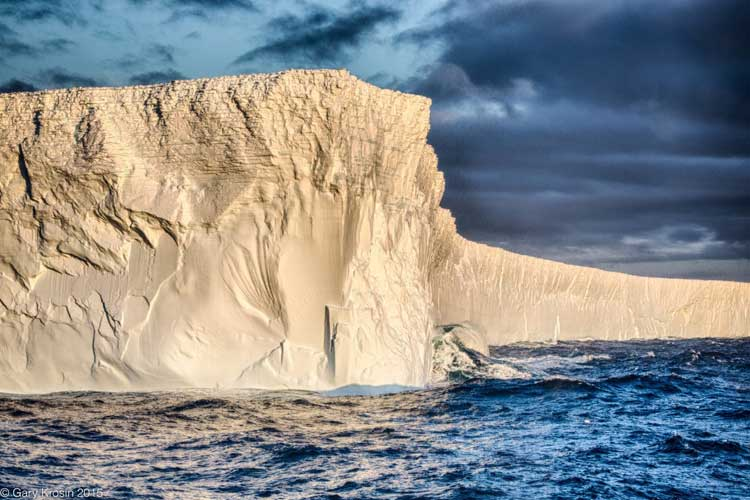 Iceberg image from Antarctica, South Georgia and Falkland Islands luxury cruise
