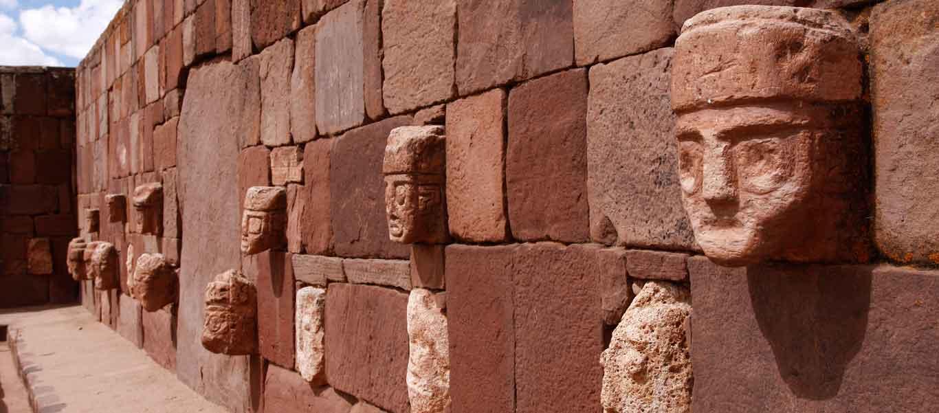 Bolivia culture & nature tours image of Tiwanaku ruins