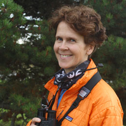 Apex expeditions image of field leader Ingrid Nixon