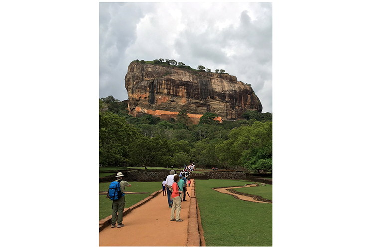 Fortress Rock Sigiriya Sri Lanka