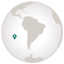 Globe graphic for French Polynesia cruise