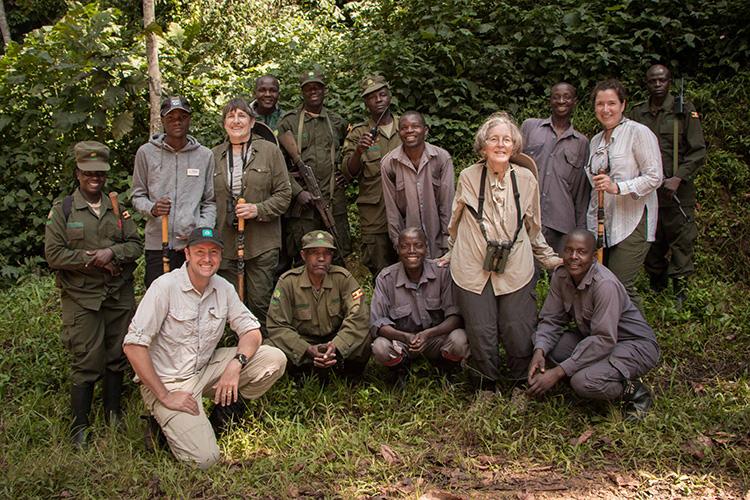 Group of Apex travelers on Uganda Gorilla Trekking tour