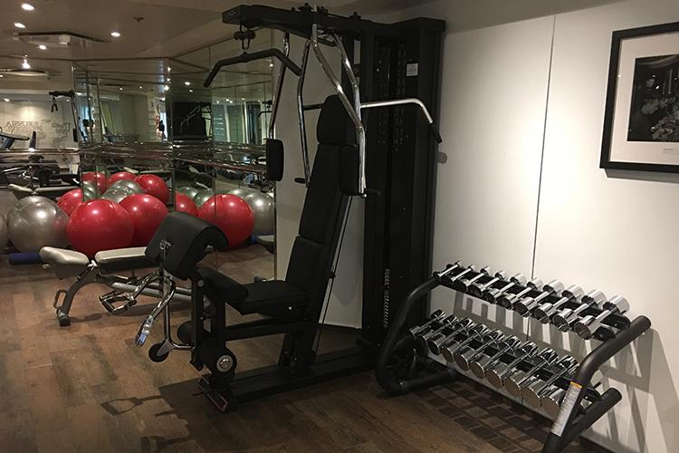 Siver Explorer gym