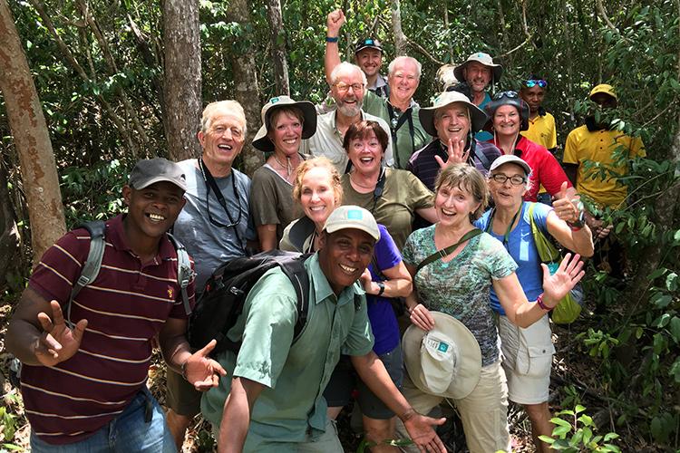 Apex travelers at Analamerana Special Reserve