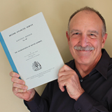 Image of Kevin Clement holding British Antarctic Survey