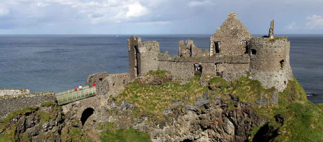 Ireland image of Dunluce Castle