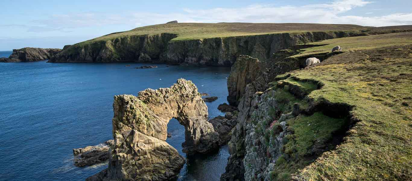 Cruise around british isles image of Fair Isle