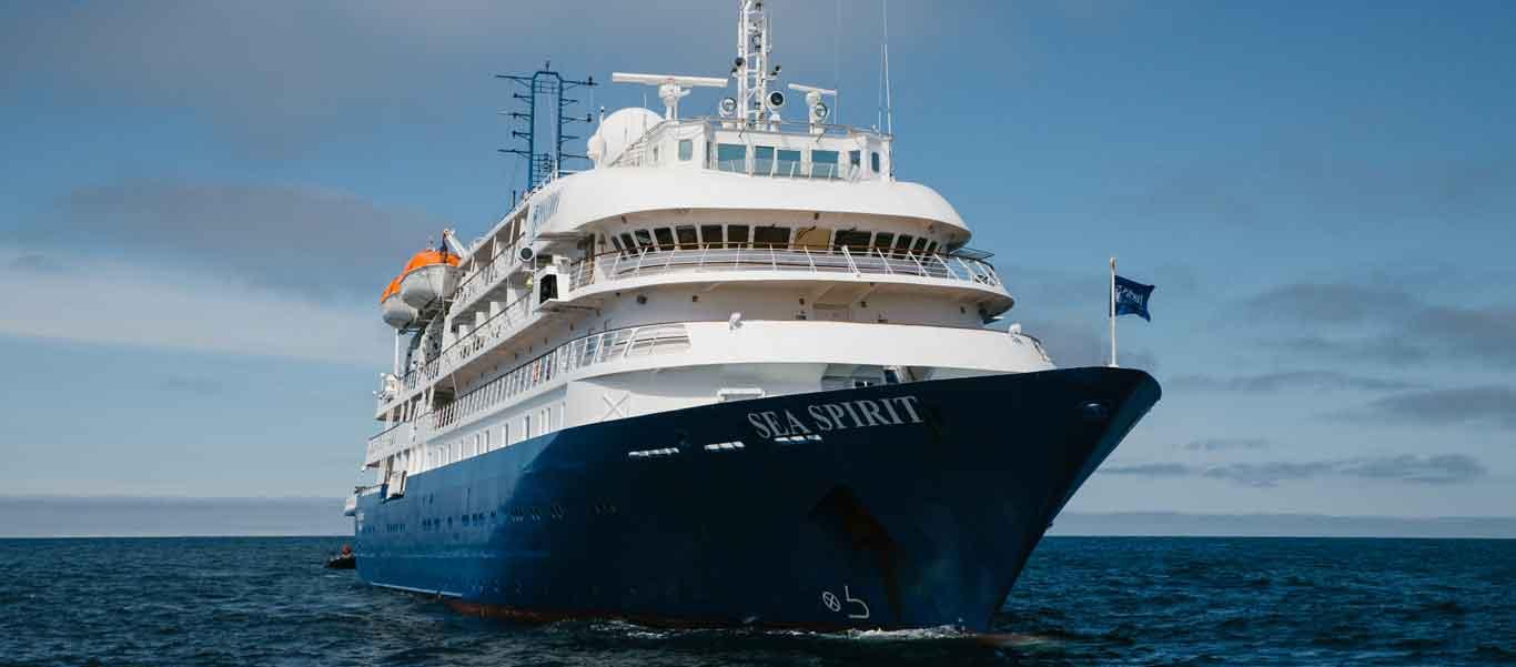 British Isles cruise photo of vessel, Sea Spirit.