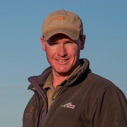 Apex Expeditions field leader Richard Visser