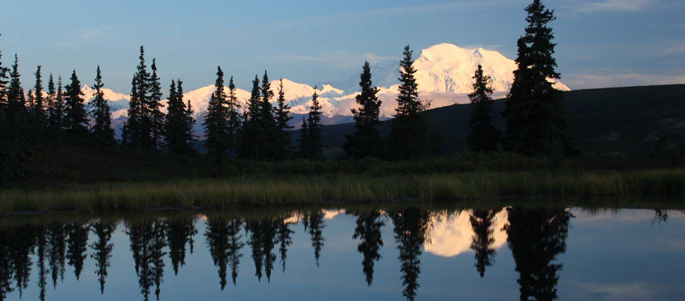 alaska national parks tour photograph of Denali