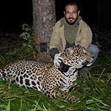 Diogo Lucatelli with Jaguar
