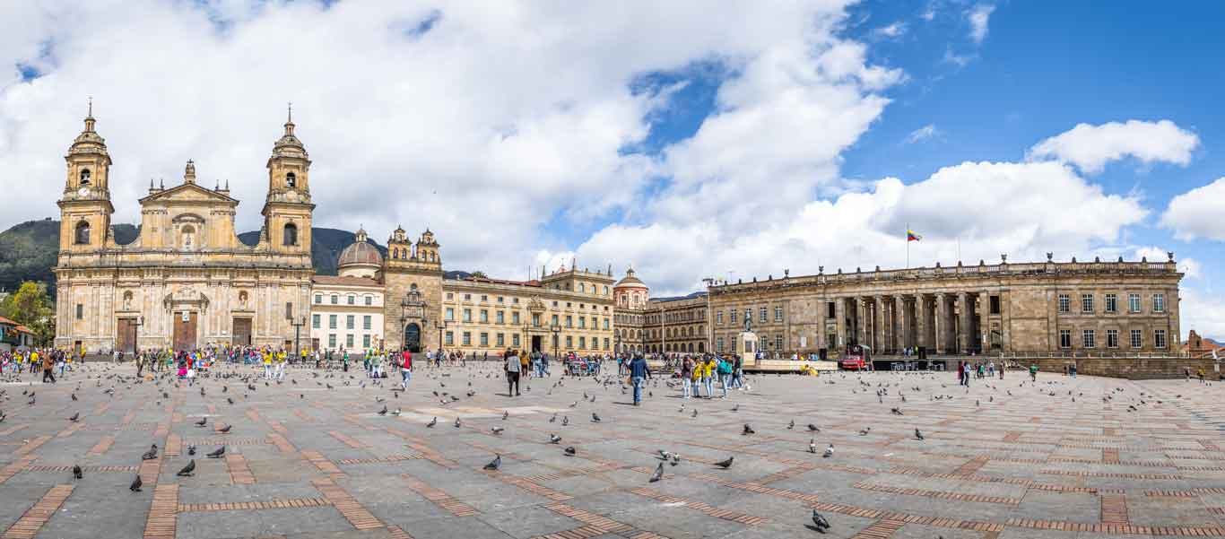 Colombia travel image of Bogotá square