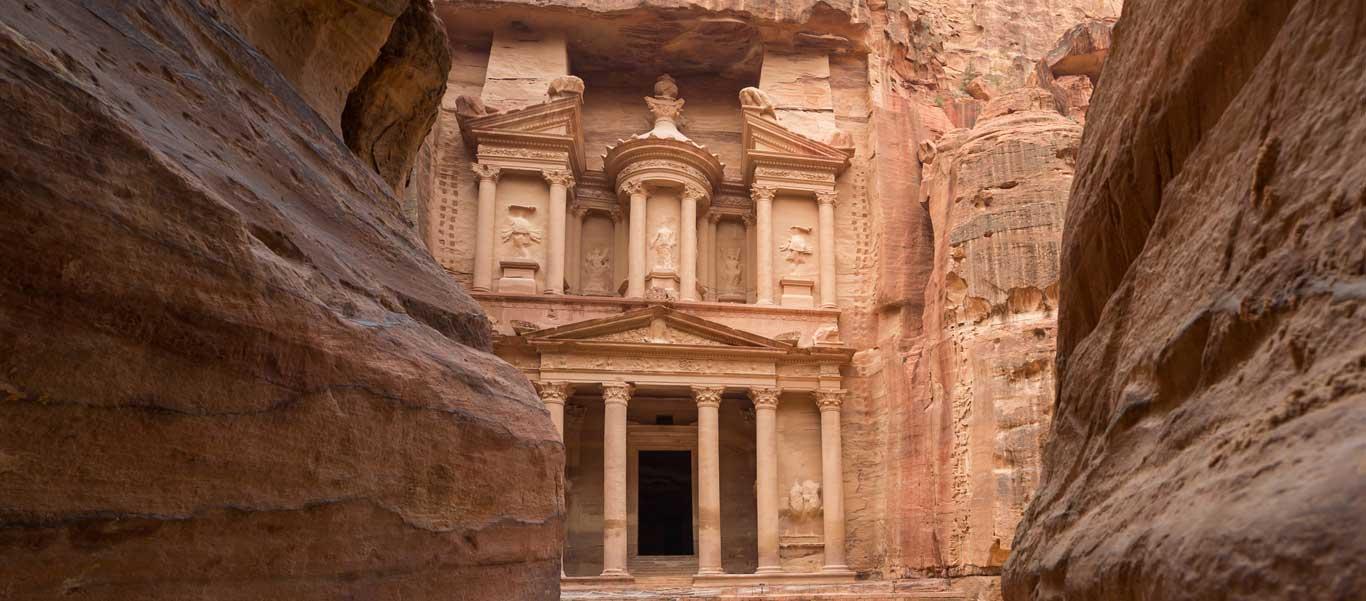 Jordan Travel image of Treasury at Petra