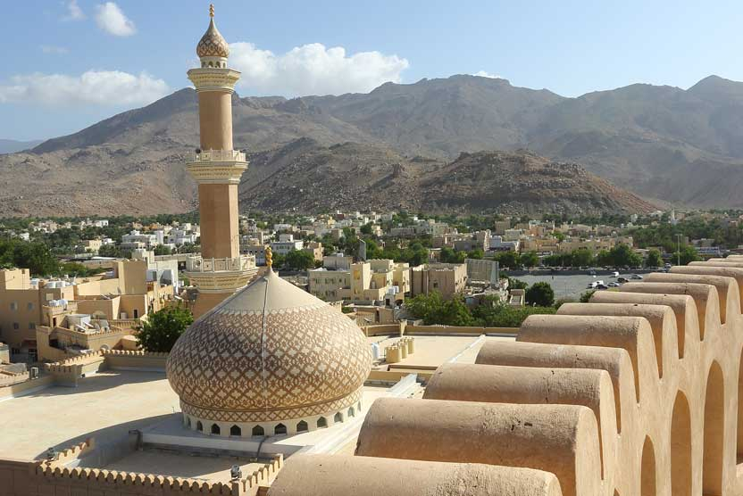 Oman travel photo of view from Nizwa Fort