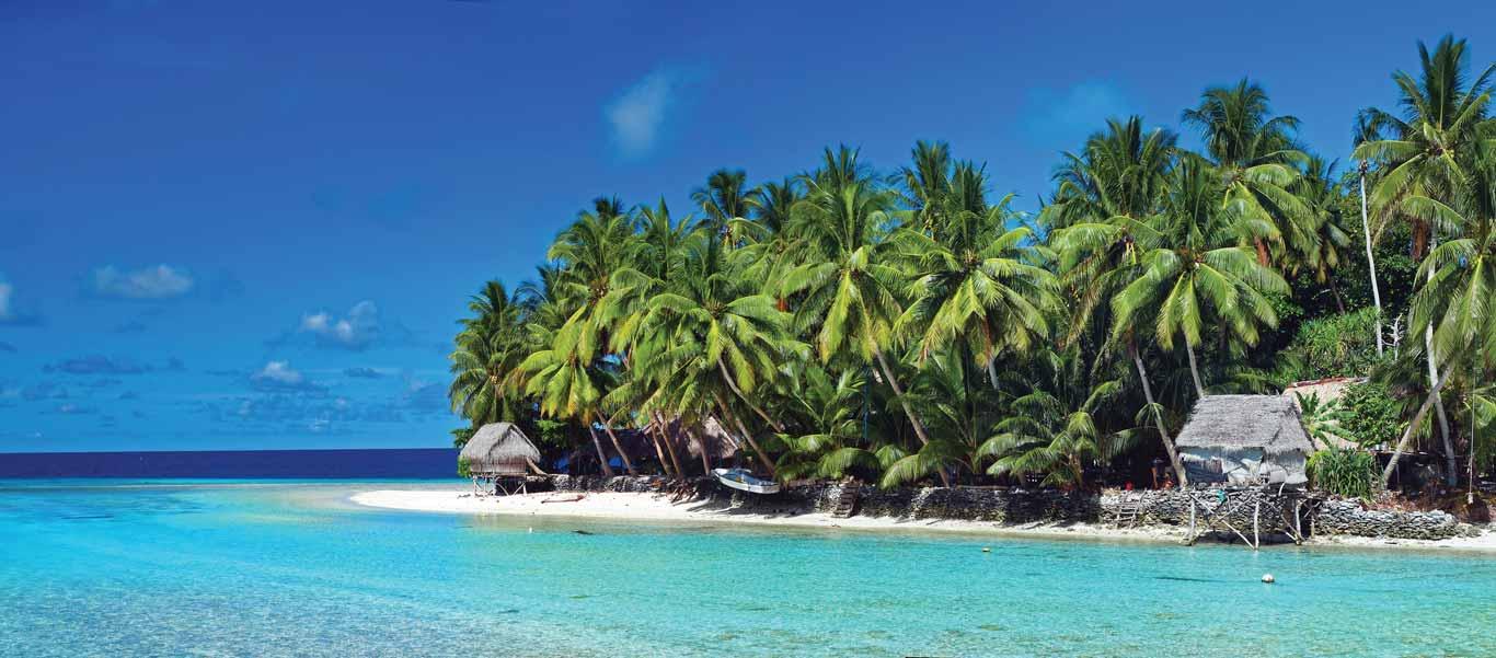 Micronesia and Papua New Guinea cruise image showing Kapingamarangi Atoll