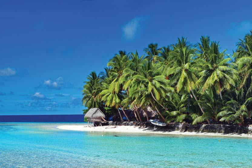 Micronesia and PNG cruise photo of Kapingamarangi Atoll