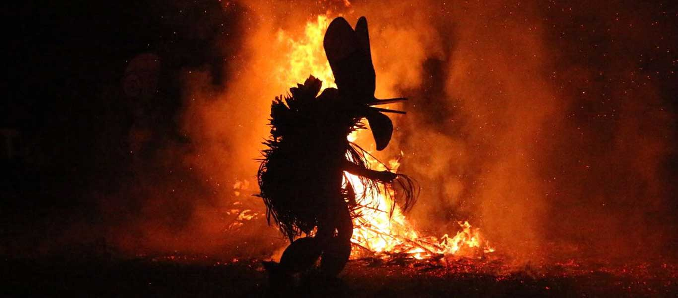 Micronesia and PNG Cruise photo of Baining Fire Dance at Rabaul