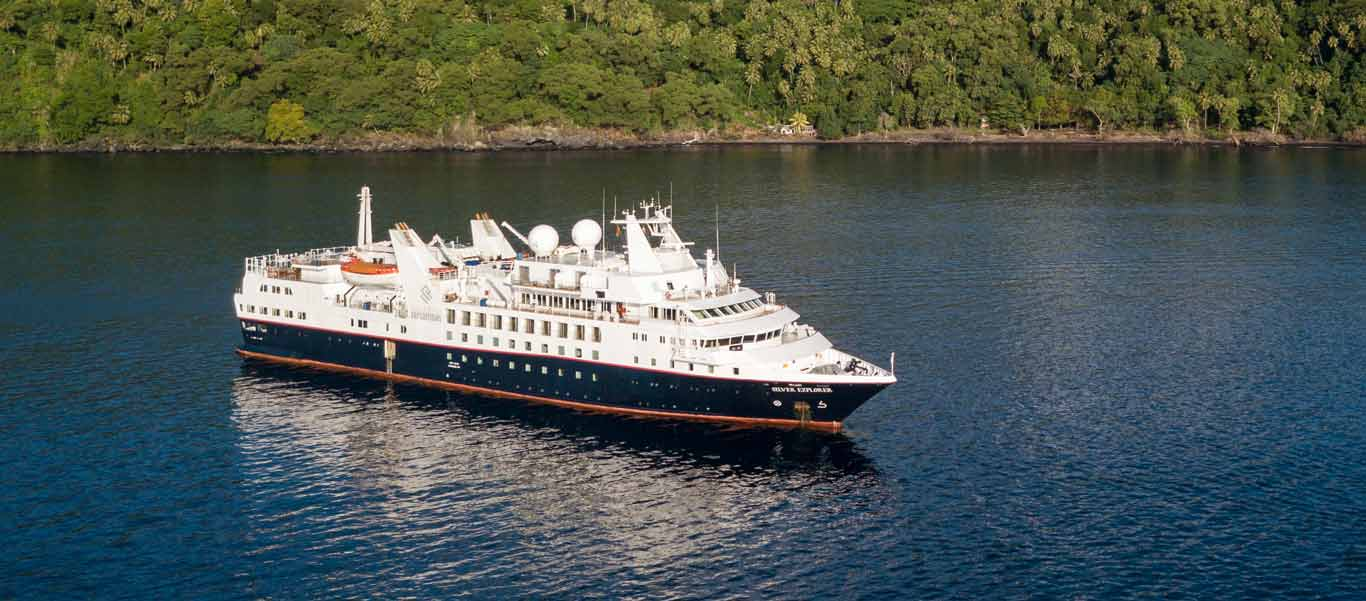 Micronesia & PNG Cruise image of expedition vessel Silver Explorer