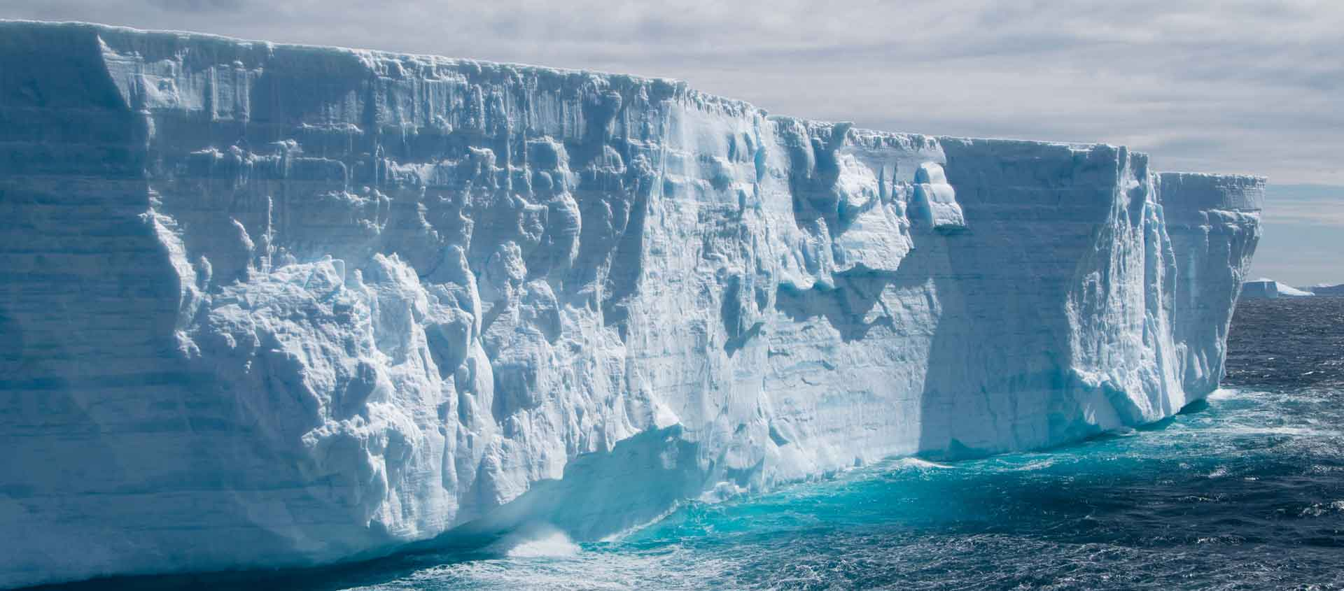 Deep South Antarctica cruise image of giant iceberg