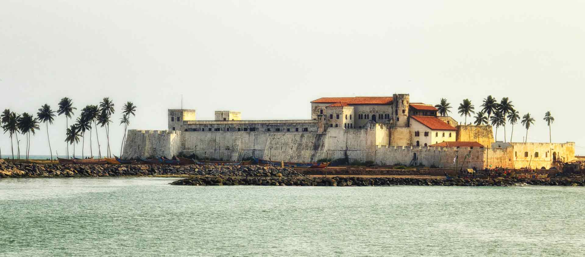 West Africa cruise image of Elmina Castle, Takoradi, Ghana