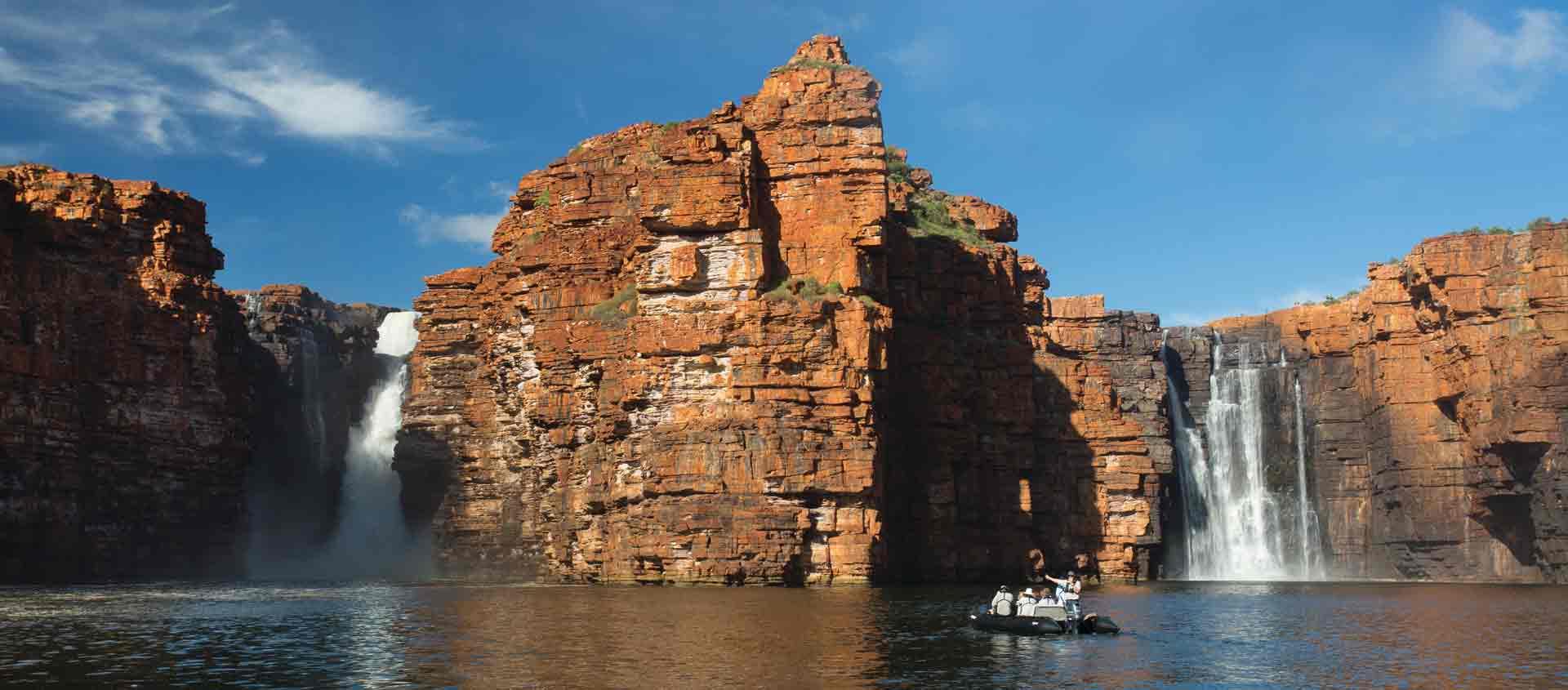 cruise Australia's west coast photo of King George Falls in the Kimberley
