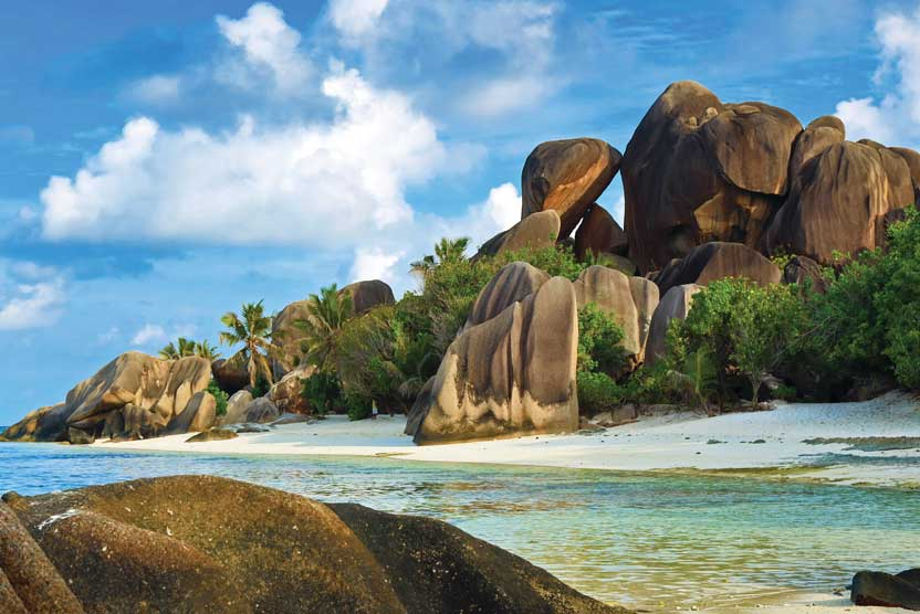 Seychelles cruise photo of Anse Source d'Argent beach on La Digue Island