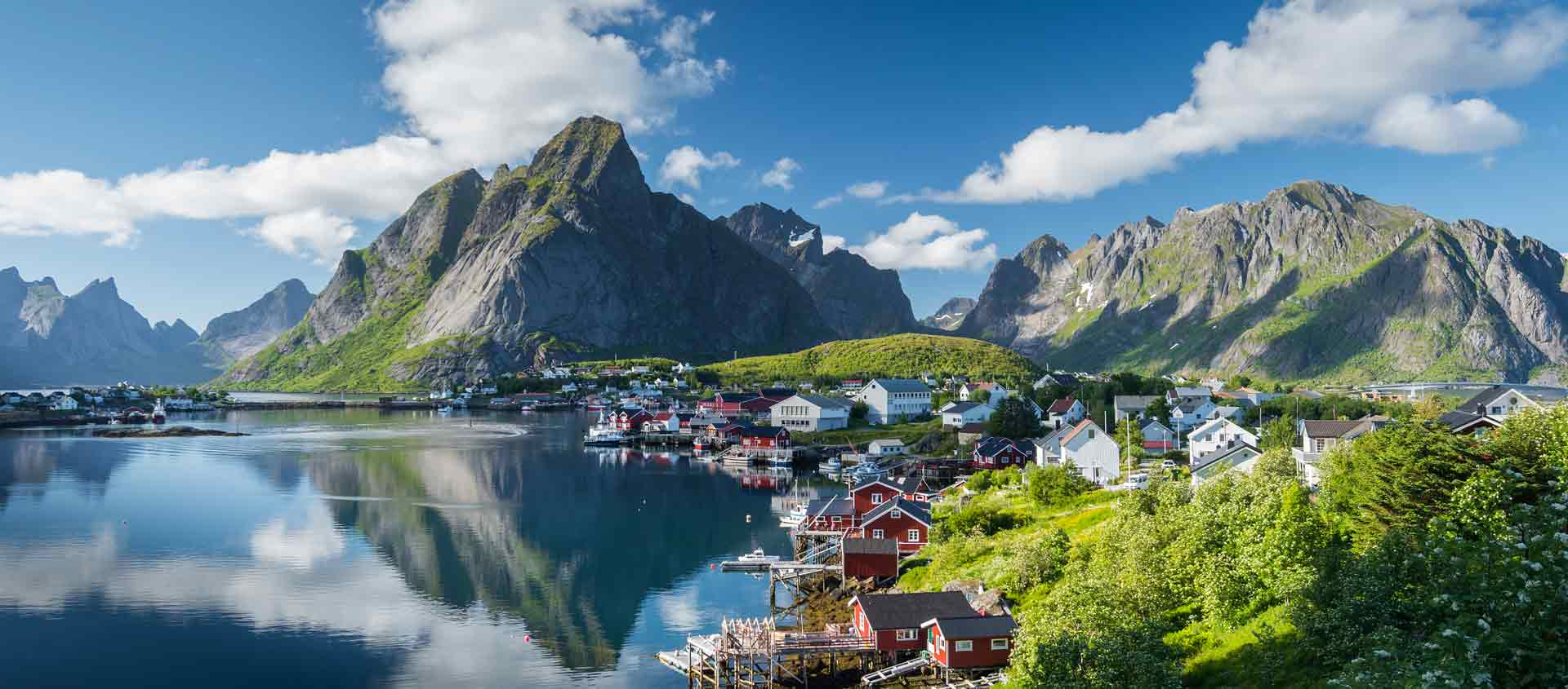 Cruise to British Isles and Norway image of Reine Village in the Lofotoen Islands