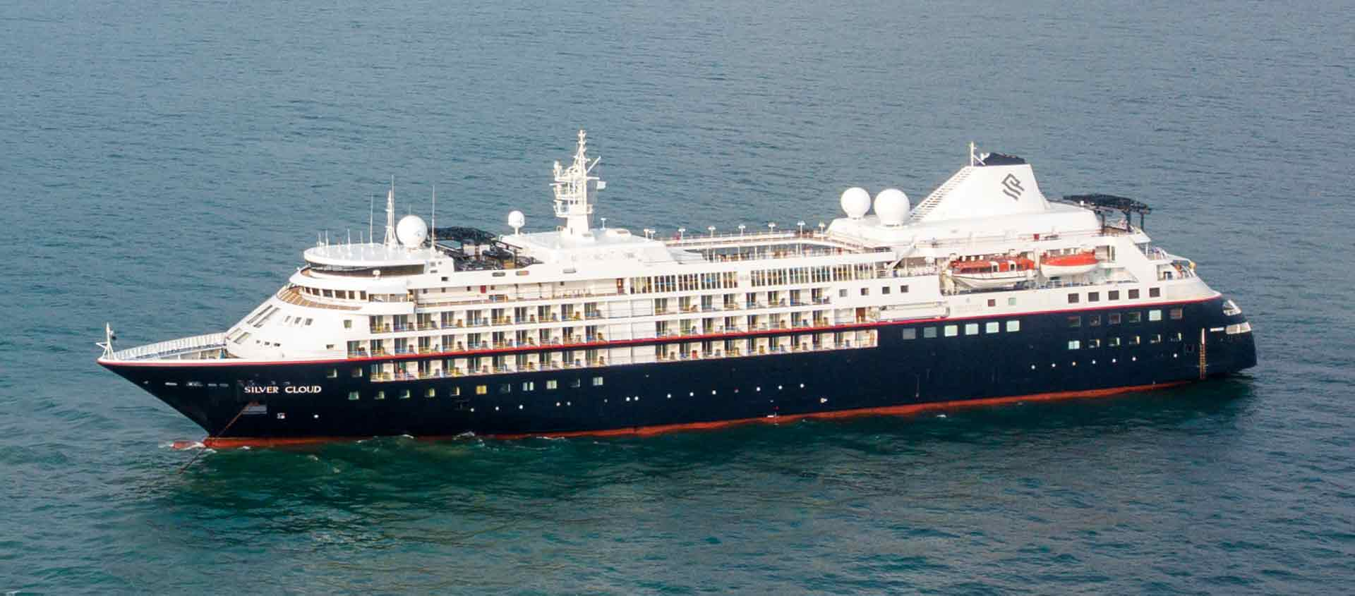 West Coast of Africa cruise photo showing vessel Silver Cloud